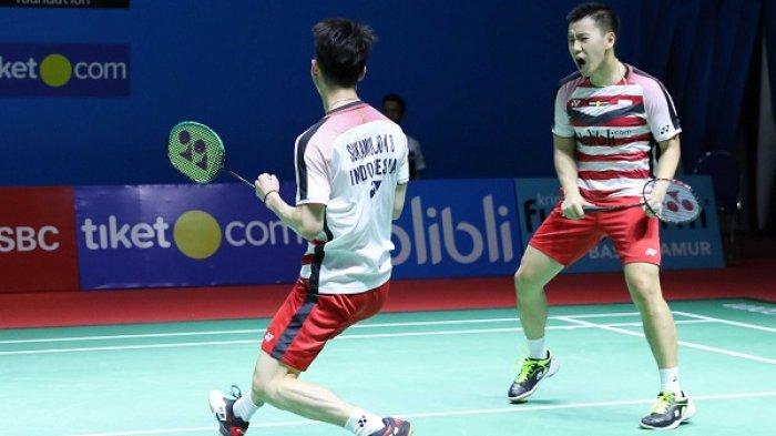 Kevin/Marcus Juara Ganda Putra Indonesia Open 2018