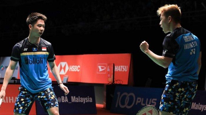 Kevin/Marcus Juara Malaysia Masters 2019