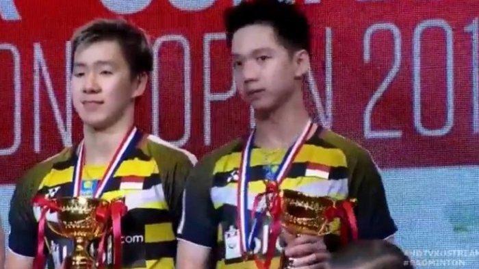 Kevin/Marcus Juara di Hong Kong Open 2018 dan Raih Gelar Ke-9