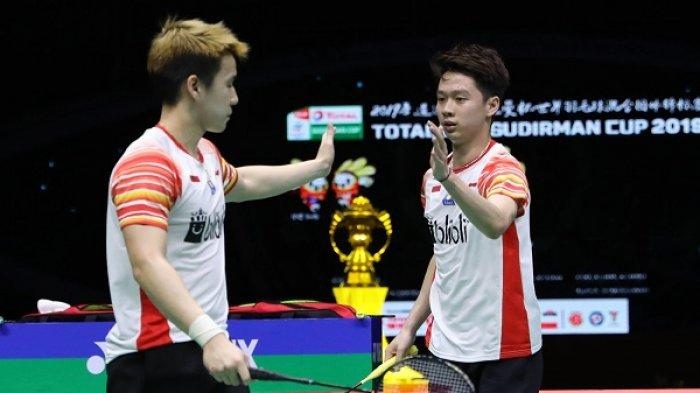 The Minions vs The Daddies di Babak Final China Open 2019