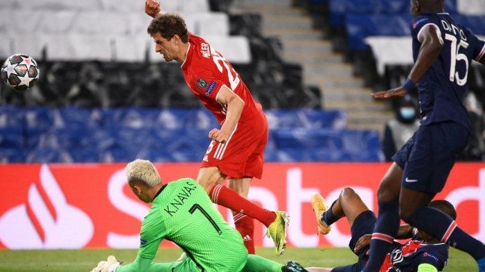 PSG Akhirnya Singkirkan Bayern Muenchen Meski Kalah 0-1, PSG Lolos ke Semifinal Menang Gol Tandang