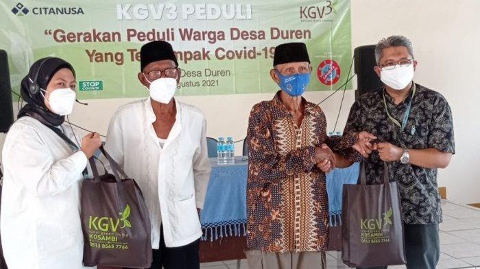 Peduli Warga Karawang, KGV3 Bagi-Bagi Sembako kepada Warga Terdampak Covid-19