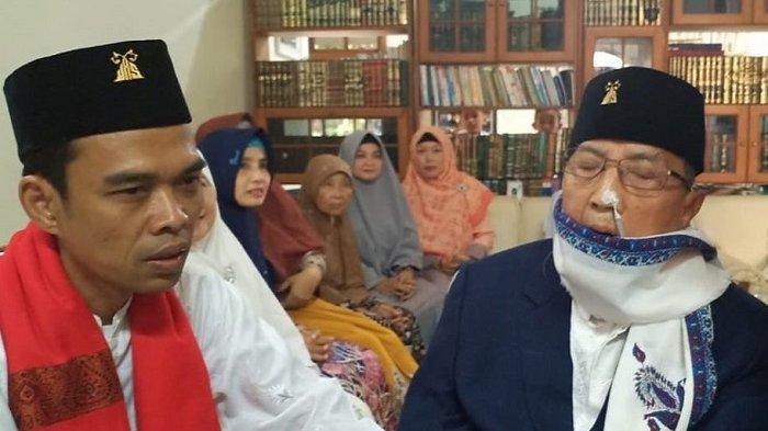 KH Abdullah Syukri Zarkasyi Meninggal Dunia, Ustaz Abdul Somad Buka Memori 27 Tahun hingga ke Mesir
