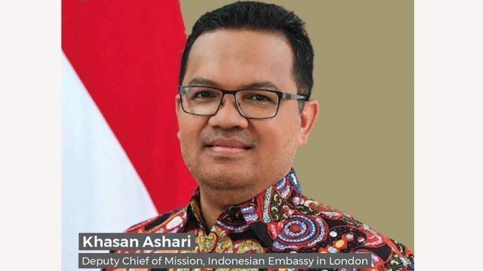 Khasan Ashari Wakil Kepala Perwakilan KBRI di London