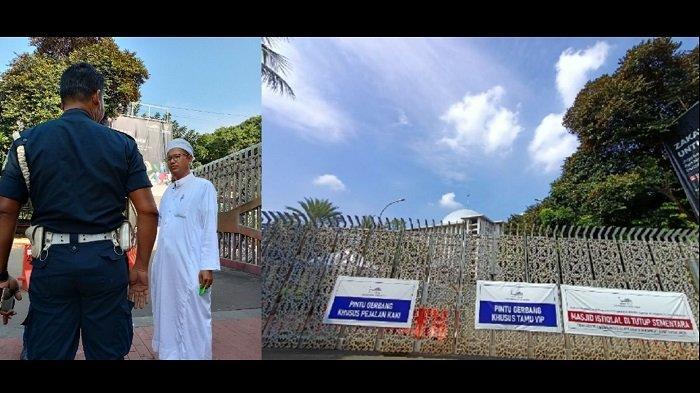 Ingin Salat Duha, Warga Muara Angke Ini Dipaksa Pulang Petugas Keamanan Masjid Istiqlal: Saya Kecewa