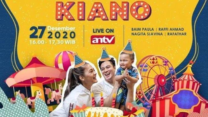 Ulang Tahun Pertama Kiano Tiger Wong, ANTV Tayangkan '365 Hari Bahagia Kiano' Hari Minggu Sore Nanti