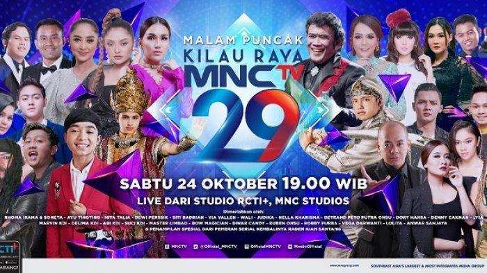 Malam Puncak HUT ke-29 MNC TV, Bakal Ada Air Mancur & Artis Menari di Dalam Air!