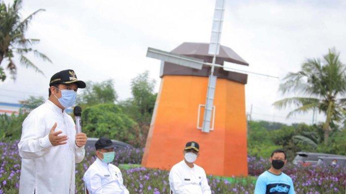 Ingin Lihat Kincir Angin Tak Perlu Jauh-jauh ke Belanda, Kunjungi Saja ke Ecofarm Kampung Baru