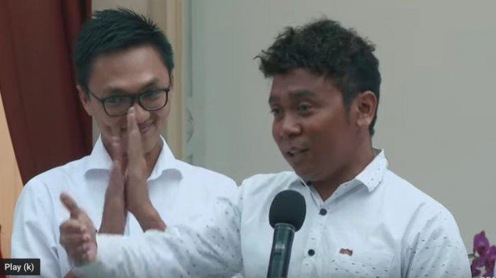 Billy Mambrasar Mengira Prank Baru Sampai London Harus Balik ke Jakarta Penuhi Panggilan Jokowi