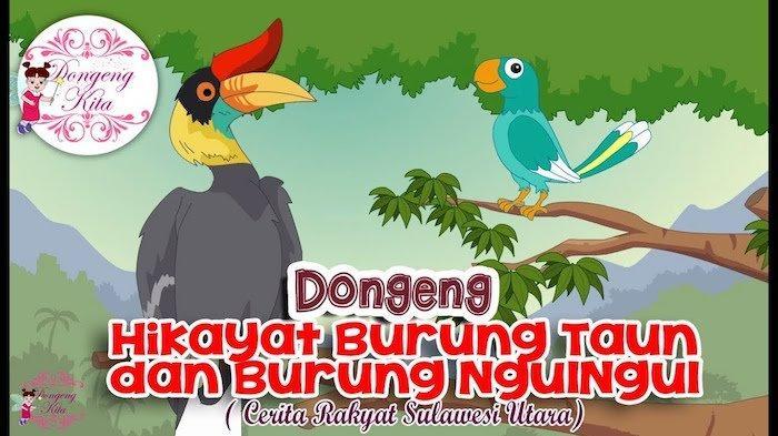 Ceritakan Kisah Burung Taun dan Burung Ngulngul, Soal Jawaban Kelas 1-3 SD di TVRI Jumat 27 November