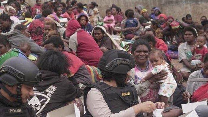 KKB Papua Kembali Berulah Keji Minta Makan ke Warga Sambil Todongkan Senjata, Bikin Resah Masyarakat