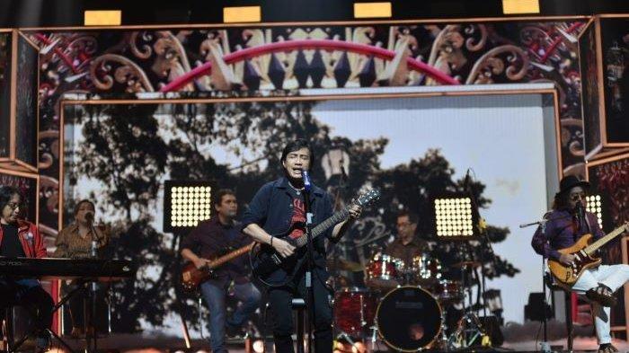 KLa Project saat bernyanyi di perayaan ulang-tahun ke-28 ANTV berjudul Jejak Waktu ANTV 28 Tahun yang disiarkan ANTV, Sabtu (20/3/2021) malam.