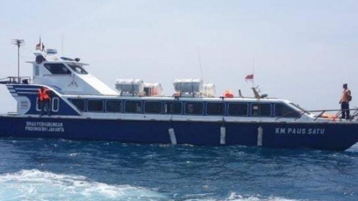 Bantu Mobilitas Warga Pulau Sebira Kepulauan Seribu,Dishub DKI Kembali Operasionalkan KM Paus Satu