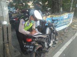 Ganggu Pengguna Jalan dan Kekhusukan Ramadan Polisi Sita SIM-STNK Para Pemilik Motor Knalpot Bising