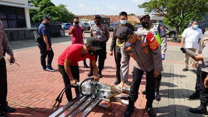 25 Knalpot Racing Dimusnahkan, Pelanggar Diwajibkan Memakai Knalpot Standar Motor