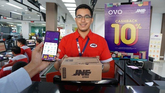 OVO Mudahkan Pelanggan JNE di Seluruh Indonesia Lakukan Transaksi Digital