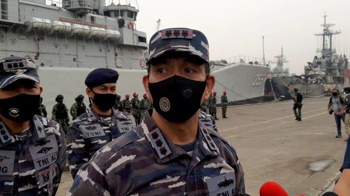 Amankan Ibu Kota, Perairan Jakarta dan Sekitarnya Dijaga Ratusan Personil dan 5 Kapal KRI