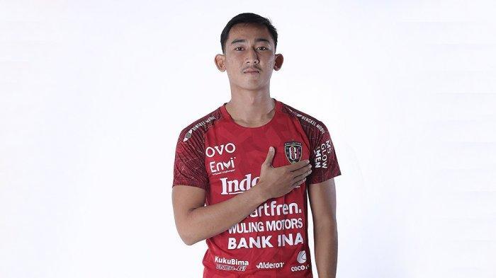 Komang Tri Arta Wiguna Bek Muda Bali United FC Senang Berlatih Bersama Seniornya