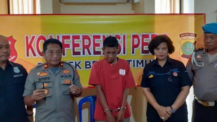 Komeng Spesialis Pencurian Motor di Bekasi, Hasilnya Dipakai Judi Online