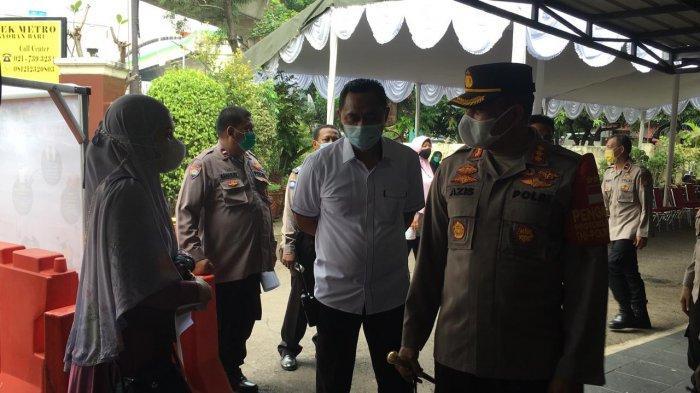 Kebut Distribusi Vaksinasi Covid-19 di Wilayah Jakarta Selatan, Polres Metro Jaksel Turun Tangan