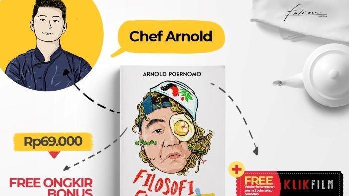 Buku Filosofi Endog karya Chef Arnold Poernomo dirilis Falcon Publishing menjelang perayaan Hari Raya Idul Fitri 2021, Jumat (7/5/2021).