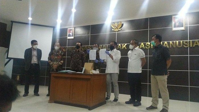 Komnas HAM Serahkan 16 Barang Bukti Penembakan 6 Anggota FPI kepada Bareskrim, Termasuk Foto Jenazah
