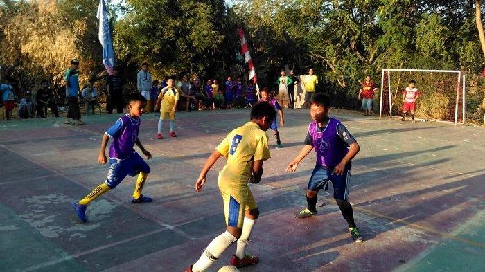 Meriahkan HUT RI, Warga Perumahan Villa Wanasari Adakan Kompetisi Futsal Anak-anak