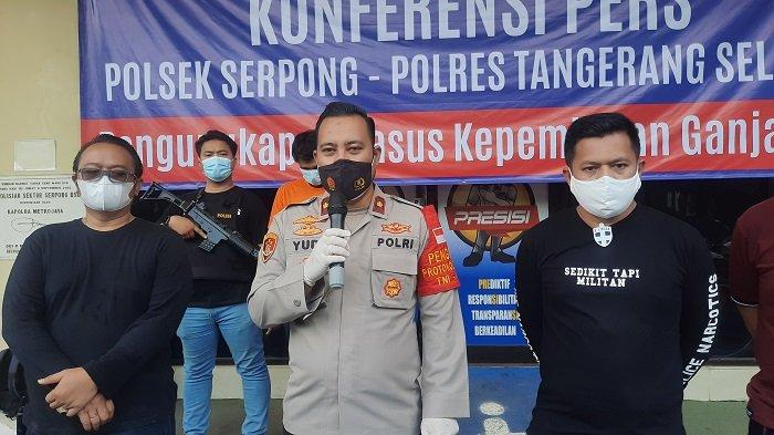 Polisi Ringkus Mahasiwa Pengedar Ganja dan Sita Barang Bukti 3 Kilogram Ganja Asal Sumatera Barat