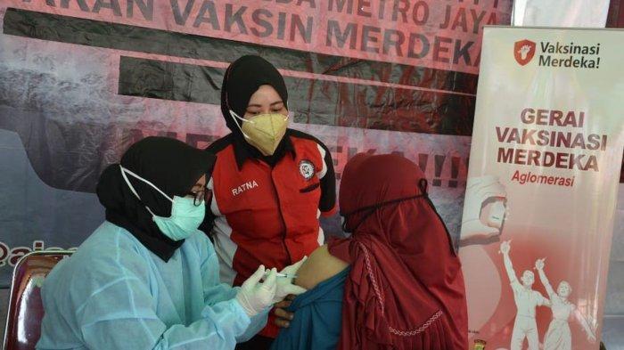 Digelar Hingga 30 September 2021 Vaksin di Kantor Kelurahan Jatibening Pondok Gede Berhadiah Sembako