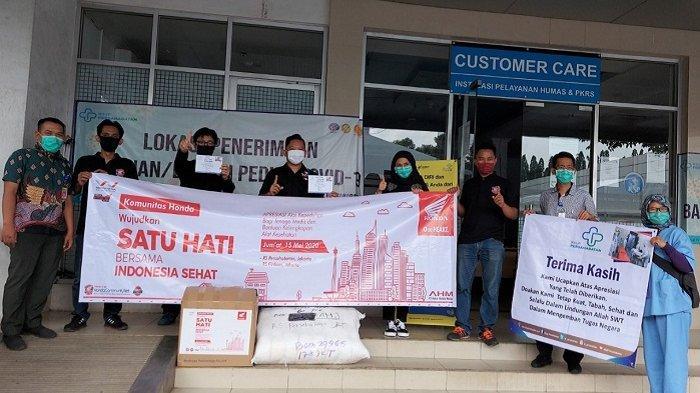 Ikut Perangi Covid-19, Komunitas Honda Donasi 150 Baju Hazmat dan 2.000 Masker untuk Petugas Medis