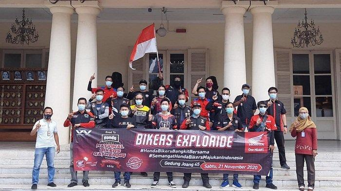 Ajak Bangkit Bersama Melawan Pandemi Covid-19, Komunitas Asosiasi Honda Jakarta Gelar City Riding