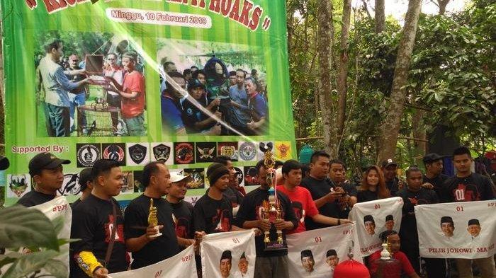 Menangkan Jokowi-Maruf, Komunitas Burung Kicau Bekasi Siap Bantu Tangkal Hoax