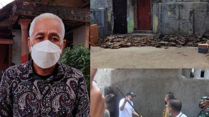 Tembok yang Dibangun Tutupi Akses Jalan Rumah Tahfiz oleh Anggota DPRD Pangkep, Akhirnya Dibongkar