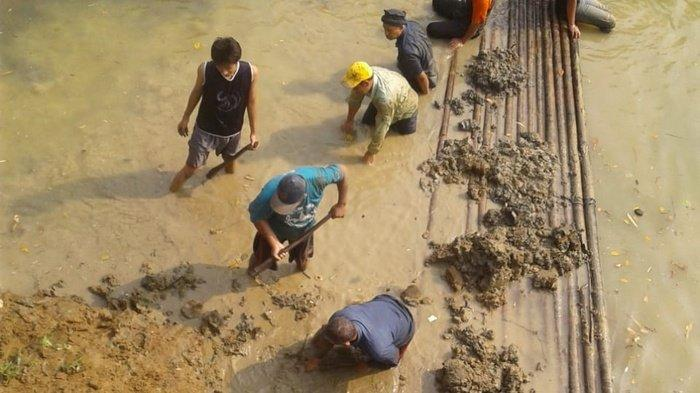 Debit Air Sungai Cisadane Menurun, Tangerang Krisis Air Bersih