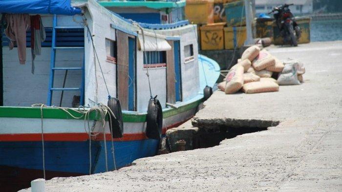 Dermaga Pantura Pulau Kelapa Rusak Parah, Bupati Kepulauan Seribu Minta Pengembang Segera Perbaiki
