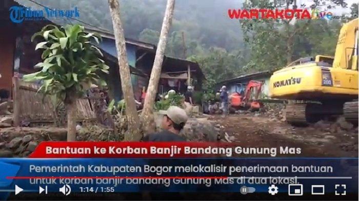 VIDEO Bantuan untuk Korban Banjir Bandang Gunung Mas Terus Mengalir, Camat Cisarua Siapkan Posko