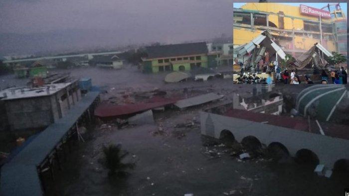 Ini Video-Video Amatir Yang Perlihatkan Saat Tsunami Terjang Kota Palu dan Donggala