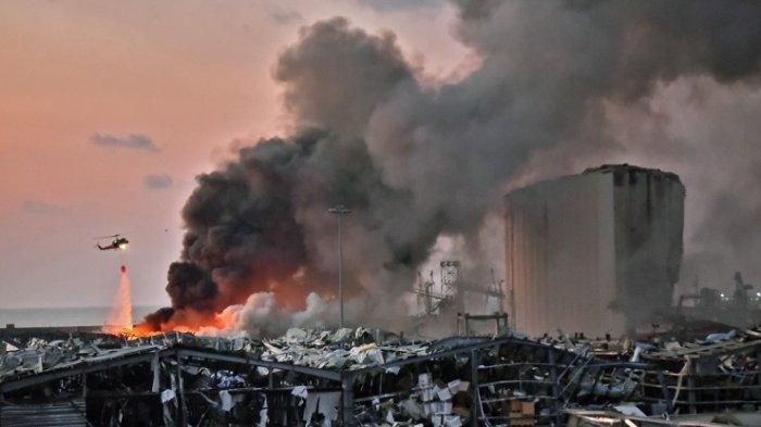 100 Orang Tewas dan 4.000 Orang Luka-luka, Salah Satunya Istri Dubes Belanda di Ledakan Beirut