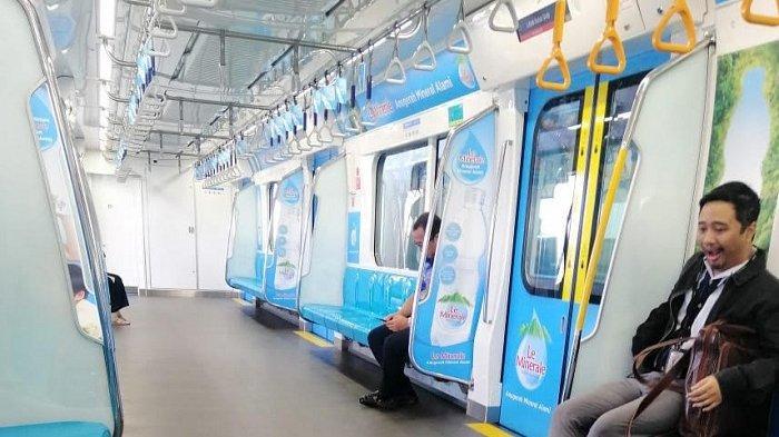 Jadwal Normal Kembali, Stasiun MRT Lebak Bulus Hari Selasa Cenderung Sepi