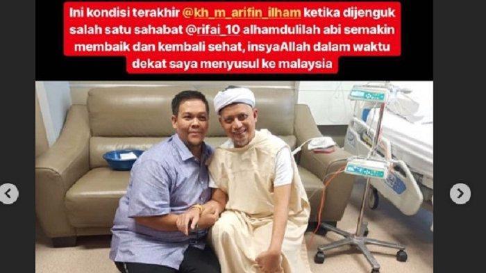 Ustaz Arifin Ilham Sehat dan Besok Keluar dari Rumah Sakit, Ini Kata Ustaz Yusuf Mansur