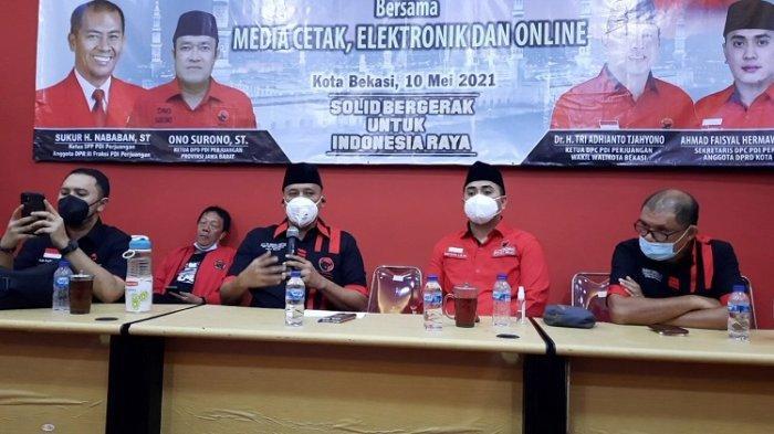 DPC PDIP Kota Bekasi Dukung Tri Adhianto Maju Jadi Kandidat Wali Kota Bekasi Pilkada 2024