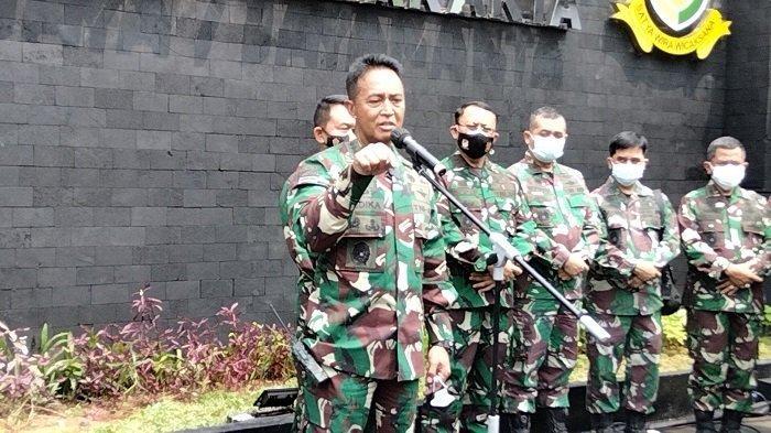 Usut Kasus Prajurit Kopassus Dikeroyok 7 Orang, Kasad Andika Perintahkan 4 Jenderal TNI untuk Kawal