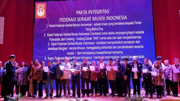 Federasi Serikat Musisi Indonesia (FSMI) Lahir untuk Tingkatkan Kualitas dan Kesejahteraan Anggota