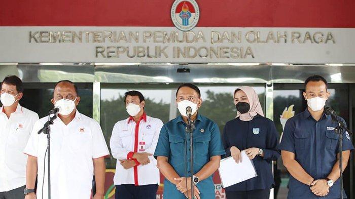 Marciano Norman Ketum KONI Pusat Nilai Paparan IBL dan Perbasi Sudah Memenuhi Protokol Kesehatan