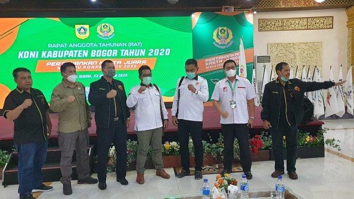 KONI Kabupaten Bogor Lakukan Monitoring dan Evaluasi, Jadi Acuan Cabang Olahraga