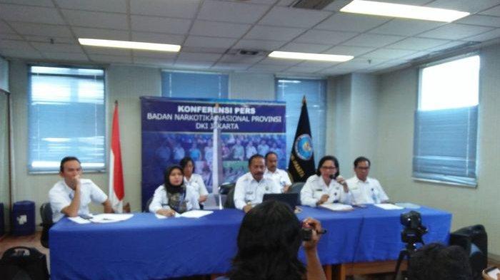 Petugas Sidak BNNP DKI ke Sekolah dan Tempat Hiburan Temukan Ratusan Pengguna Narkoba