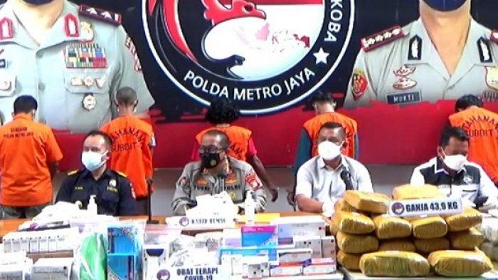 24 Pelaku Penimbun Obat Covid-19 Dibekuk Polda Metro, Ada Perawat dan Apoteker