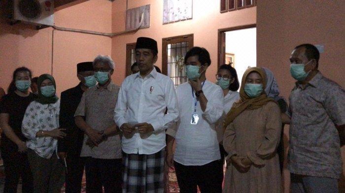UPDATE: Presiden Jokowi Jelaskan Sebelum Meninggal, Ibunya Derita Kanker Empat Tahun Terakhir