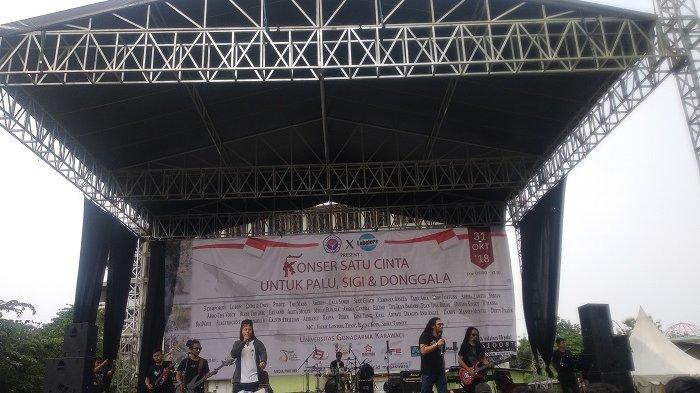 Peduli Palu-, Gunadarma Karawaci Adakan Konser Amal bersama Puluhan Band