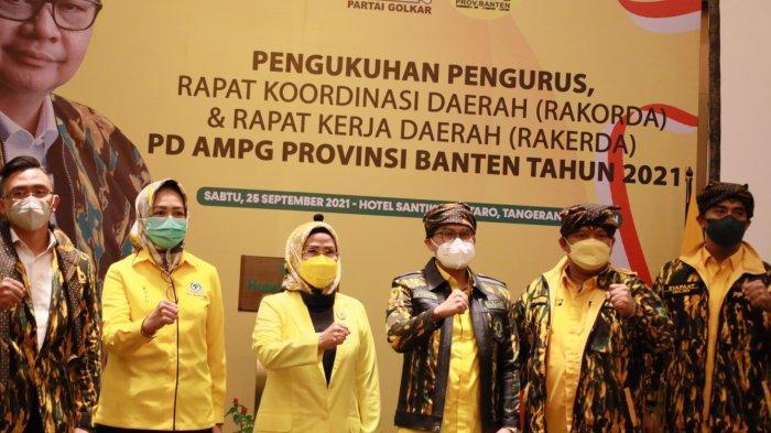 Dinasti Banten Usung Airlangga Hartarto Sebagai Capres 2024 saat Sedang Lari Bersama Cak Imin